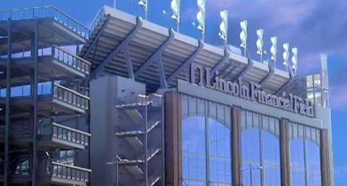 Eagles Going Green At Lincoln Financial Field