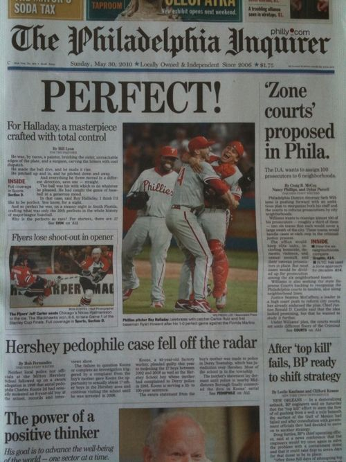 Halladay_perfect_game_phiadelphia_inquirer_flyers