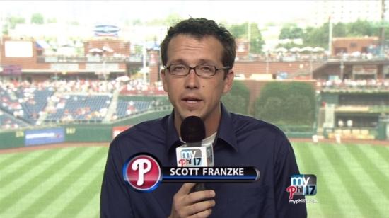 Scott Franzke Leave Phillies Texas